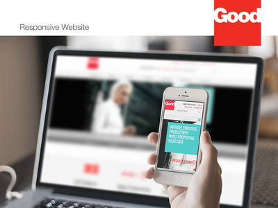 Good Technology – Responsive Website responsive design web ui ux interface mobile