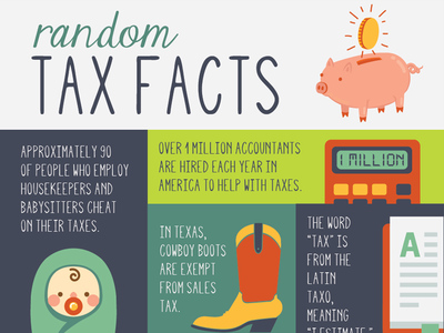 Tax Infographic 01 Preview infographic information architecture tax day taxes data visualization