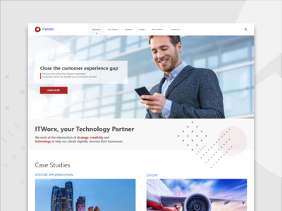 ITWorx Corporate Website Concept