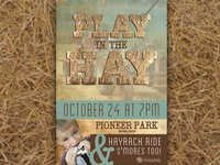 Play in the Hay poster