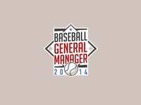Baseball General Manager Logo