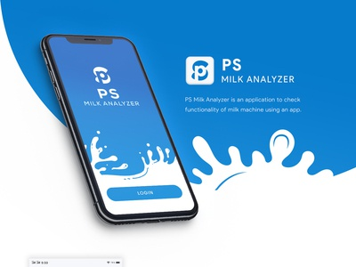 PS Milk Analyzer