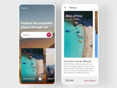 Trip Planner App Concept