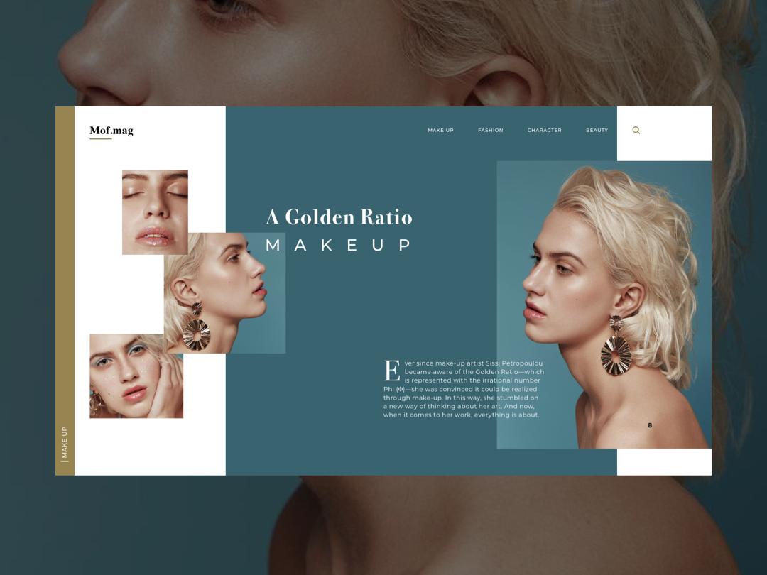 Beauty website website ui website concept website design make up magazine design luxury ui kit ui design user interface webdesign beauty web design websites ux ui