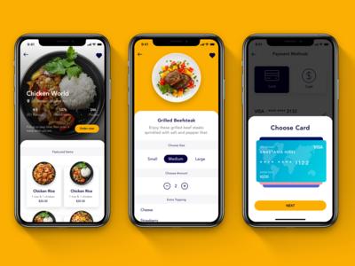 Foode App UI Kit