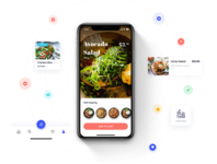 EAT ME - Food Delivery App UI Kit