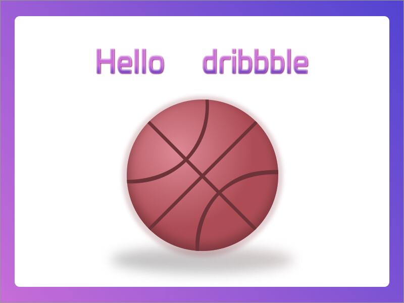 Hello Dribble sketch