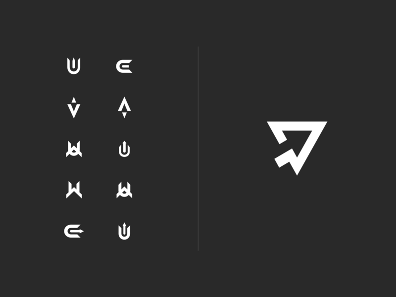 elevup Mark Exploration company letter v elevate up elevup icon software branding brand mark