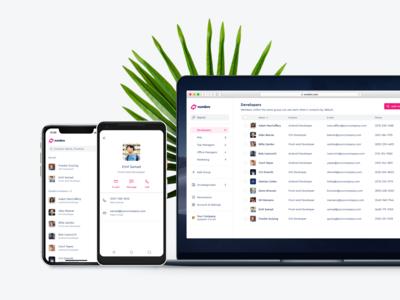 Numbro - Mobile & WebApp