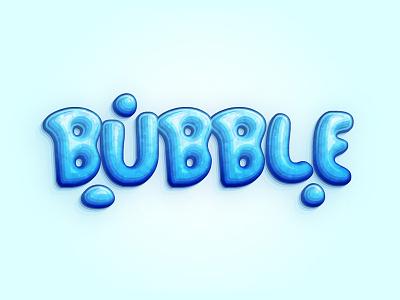 Bubble Font Text vector text font bubble tutorial illustrator