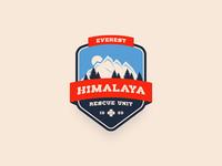 Mountain Rescue Unit Badge