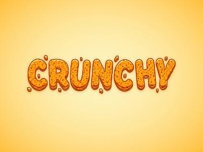 Crunchy Cartoon Text vector text cartoon crunchy tutorial illustrator