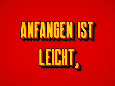 German Flag-Inspired Text vector effect text flag german tutorial illustrator