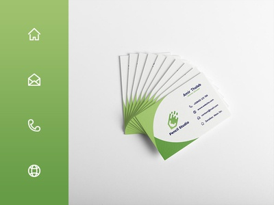 Business Card Icons vector icon card business tutorial illustrator