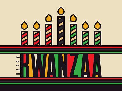 Kwanzaa Candle Text Effect vector candle kwanzaa text tutorial illustrator