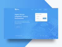 Crypto Currency Landing Page