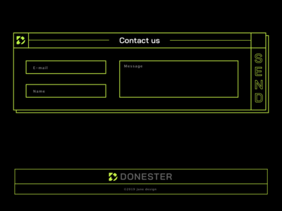 Contact Form for web