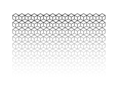 Cover design - Tyndra #3 vector graphic design sound tyndra illustrator cc cd shape white black music illustration pattern cover