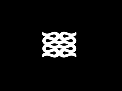 Logo Fours black branding logo white shape flat vector illustrator cc graphic design