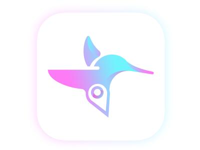 App hummingbird logo