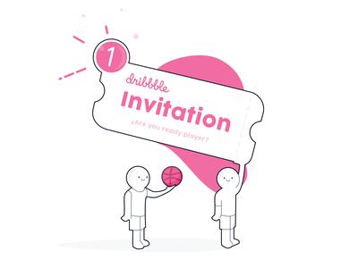 1 Dribbble Invitation