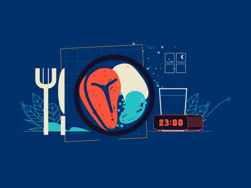 Uol Viva Bem food sleep illustrator illustration