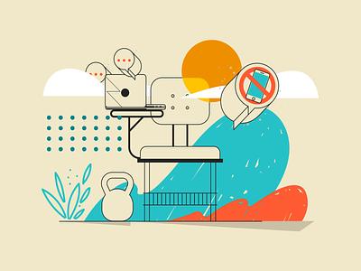 Uol - Learning learning brazilian vector illustration
