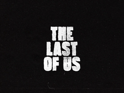 THE LAST OF US loop zombie the last of us character shadow motion animation logo typography icon illustration