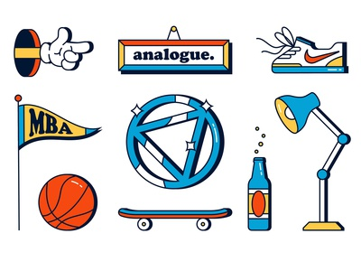analogue. elements
