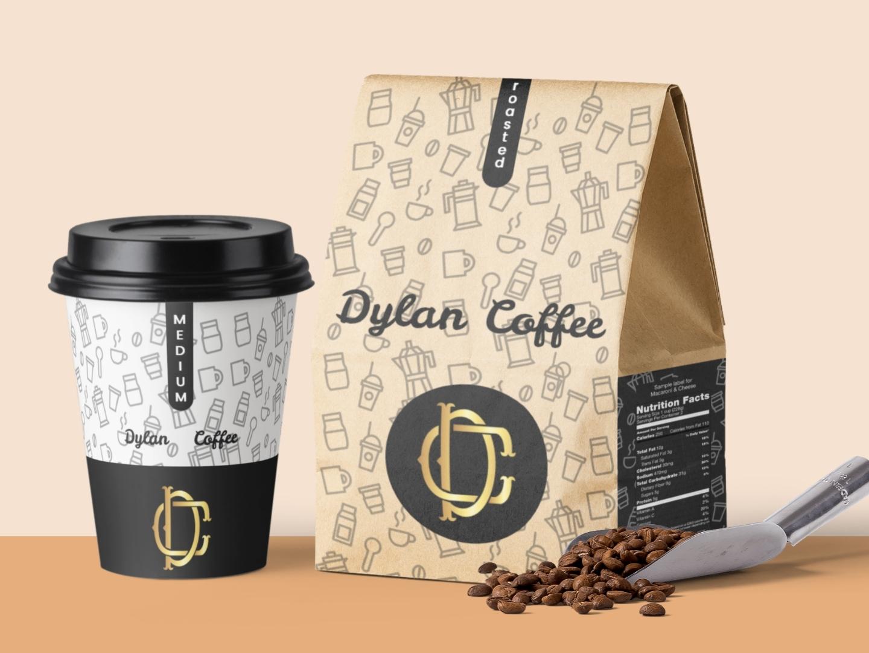 Dylan Shop - logo & package designing. clean packaging design package design package packaging logos logo design logodesign logotype logo coffee shop coffee cup coffee designs uxdesign uidesign designer ux ui design