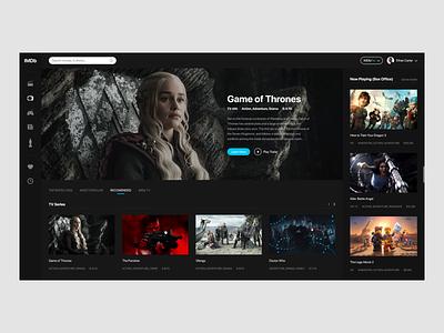 IMDb imdb ux films movies website web ui design
