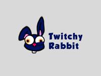 #ThirtyLogos Twitchy Rabbit
