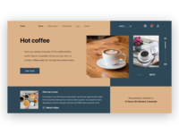 Coffex - website of a cafe