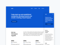 Personal Website Version 5000
