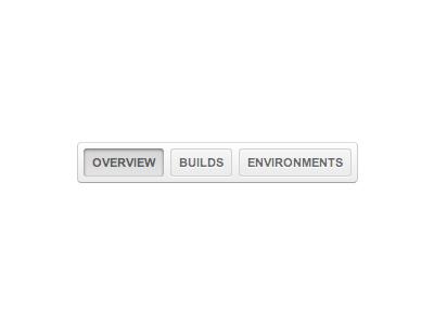 Tab bar - Photoshop or WebKit? tabs webkit photoshop menu toolbar buttons white pressed unpressed box gradient shadow ui testpilot