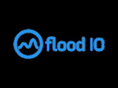 Flood IO Brand exo blue flood-io flood brand