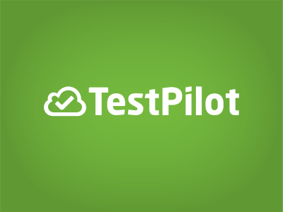 TestPilot Logo concept 2 testpilot logo green cloud tick sans intel