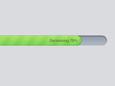 Progress Bar ui progress bar green inset simple