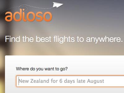 Flight search box adioso flight search orange panel sunset blur image photo plane airplane button