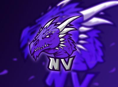 """""""nV"""" Clan logo design"""