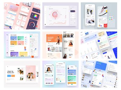 Bye Bye 2020 app design web design nashatwork mobile design minimal clean ux ui