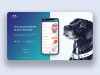 Pet App Landing