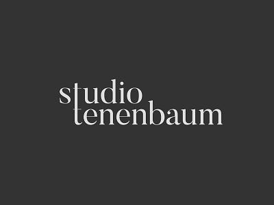 Studio Tenenbaum typography typo design logo