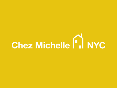 Chez Michelle NYC clean simple minimal nyc font logotype