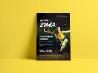 Forum sports club poster