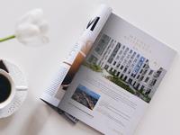 Hotel magazine advertise