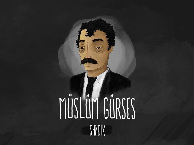 Muslum Gurses - King of Turkish Arabesque Music digitalpainting digitalart draw artwork character illustration sketchbook sketch legend music father dad arabesque