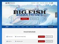 Big Bass Tournament Site Design