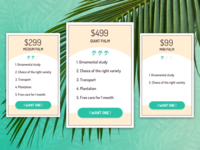 Fresh Pricing Tables