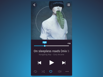 Music Player audio interface ui player music